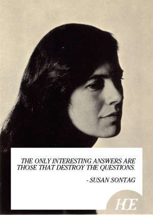 susan sontag quotes - Google Search