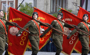Russia Red Army victory day