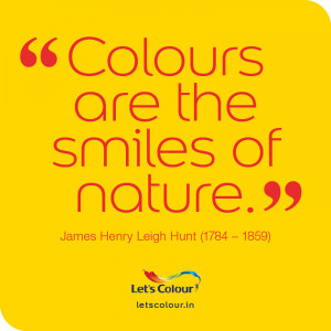 Colour quotes: Smiles of nature