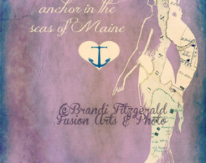 Mermaid in Maine. FineLustre Kenne bunkport Sea Quote ...