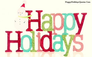 happy holidays quotes and sayings