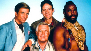 ... , Dwight Schultz, Mr. T and George Peppard starred in