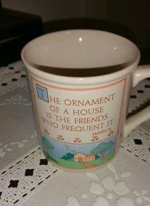 Hallmark-Mug-Mates-Vintage-Friendship-Quote-Mug-Emerson-1985
