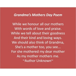 mothers day quotes for grandmothers
