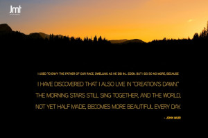 John Muir quote of the day: Projects, Word Of Wisdom, John Muir Quotes ...