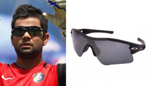 Virat Kohli sporting another Oakley Radar Range Sunglasses.