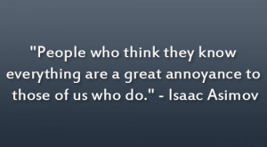 Isaac Asimov Quote