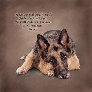 German Shepherd Sayings