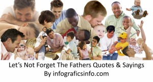 Let's Not Forget The Fathers Quotes & Sayings
