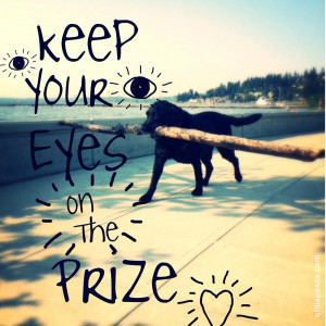 Keep your eyes on the prize. #prize #eyes #life #quotes #lifequotes # ...