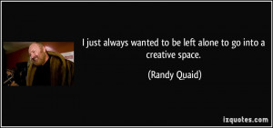 Quotes by Randy Quaid