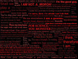 Dark Evil Quotes Evil ai quotes by