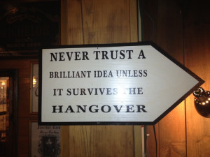 Great Quote from an Irish pub