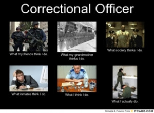 Funny Correctional Officer