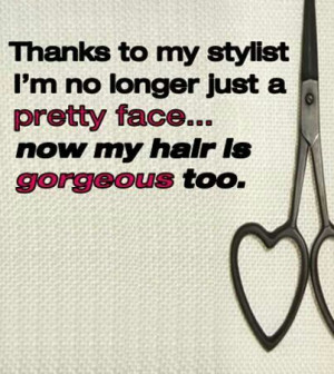 Cute hair quotes
