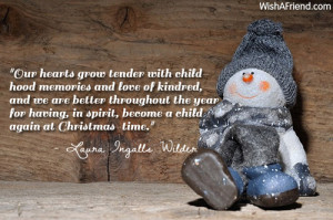 ... year for having, in spirit, become a child again at Christmas-time