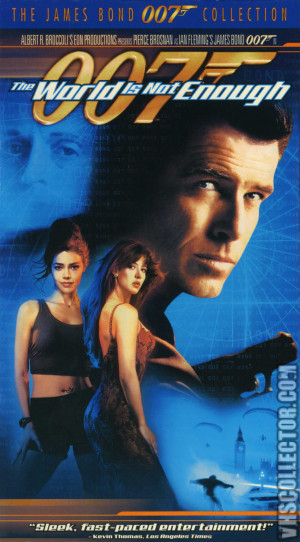 The World Not Enough Vhs Cover