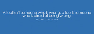 being wrong facebook cover photo