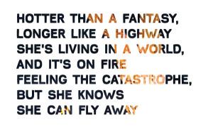 ALICIA KEYS' GIRL ON FIRE