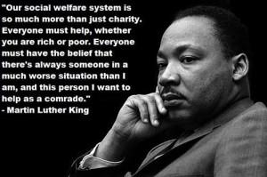 Our social welfare system.