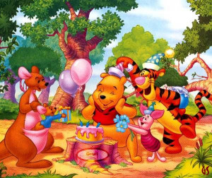 Pooh Bear Funny Thoughts...