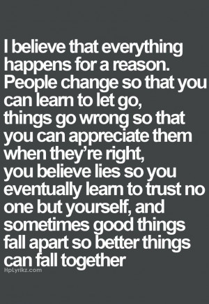 Better Things Coming Quotes