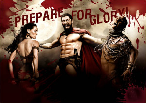 HD stills of 300 movie