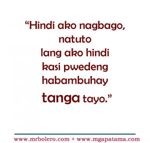 For Love Quotes Tagalog Patama Jokes