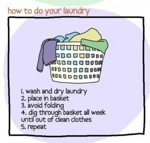 how to do your laundry - funny Picture