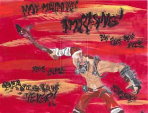 Krieg the psycho by Earennial