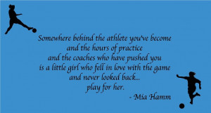 Inspirational Quotes For Teenage Girl Athletes