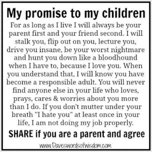 Letter to my daughter...