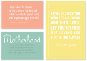 Free Printables about Mothers: