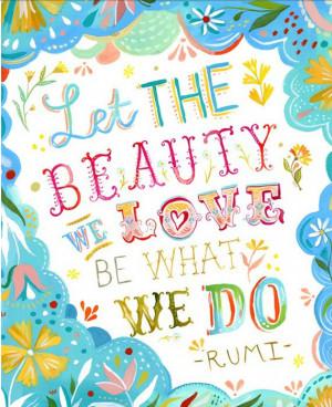 Rilke and Rumi