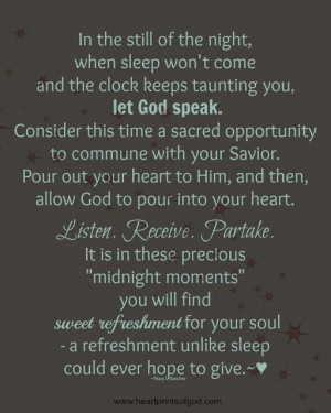 Heartprints of God: Midnight Moments~