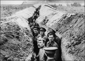 World War One - Soldiers in the Trenches