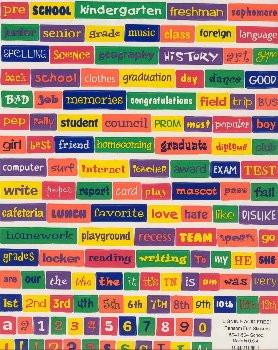 School Sayings Scrapbook Stickers