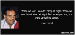 More Joe Torre Quotes