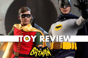 By golly Batman, if the Hot Toys Adam West Batman and Burt Ward Robin ...