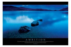 Ambition poster, hier Klicken für die beste Wiedergabe