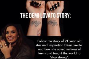 Demi Lovato Quotes About Self Harm Self Harm Demi Lovato Self