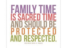 5x7 family time is sacred time Freebie. Also an announcement about ...