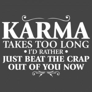 Funny Quotes Lies Karma