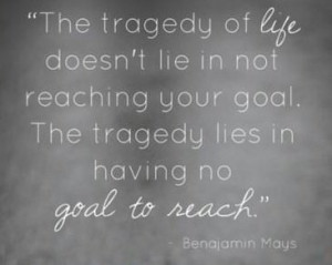 Goals And Goal Setting Quotes...