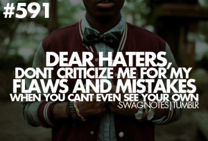 ... quotes haters chris brown 2013 swag brown 24 media tumblr swag quotes