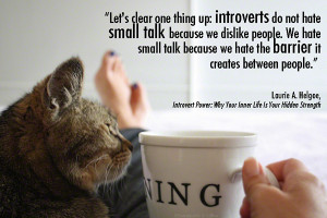 Introverts need solitude in order to recharge.