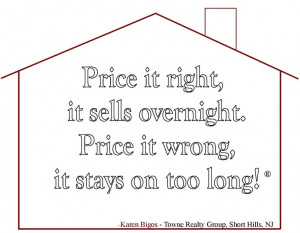 All Realtors now if you price it right, it sells faster and usually ...