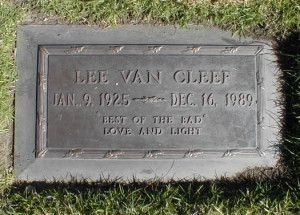 Lee Van Cleef (1925 - 1989) -