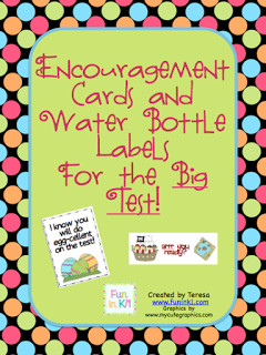 Test Encouragement Cards