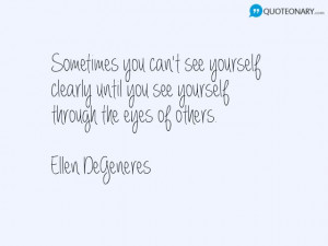 Ellen DeGeneres inspirational #quote